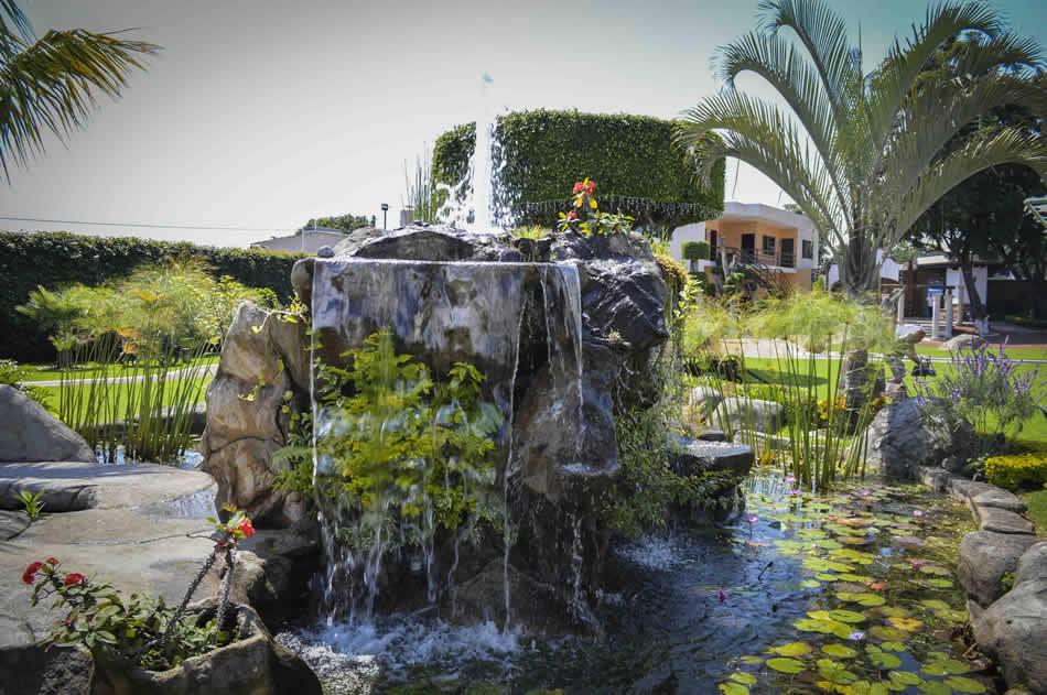 Cascadas Y Fuentes Jardin Quinta Real