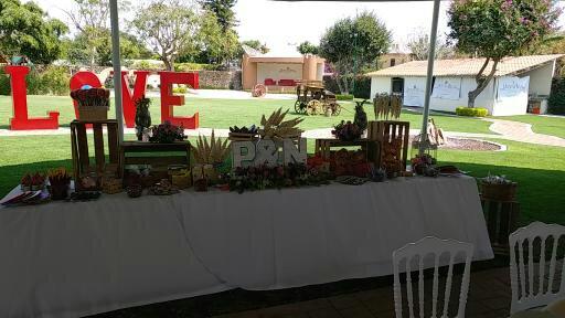 Mesa de dulces jardin quinta real for Jardin quinta real